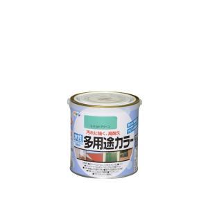 アサヒペン 水性多用途カラー(コバルトグリーン) 【0.7L(700ml)】 yamakishi