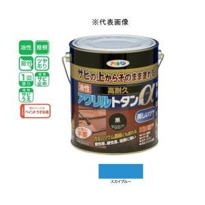 アサヒペン 油性高耐久アクリルトタン用α  スカイブルー 1.6kg|yamakishi