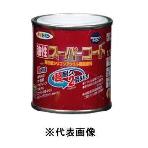 アサヒペン 油性スーパーコート(ショコラブラウン) 【1/12L(約83ml)】|yamakishi