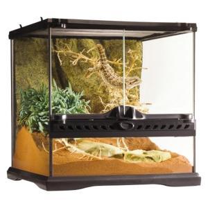 ●本体サイズ(約):幅31.5×奥行31.5×高さ33cm ●爬虫類・両生類飼育用ケージ <b...