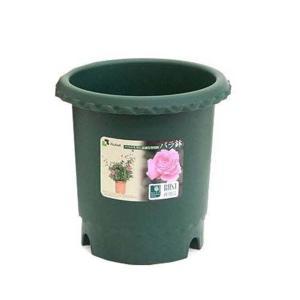 リッチェル 植木鉢 バラ鉢8号 ダークグリーン GRの商品画像