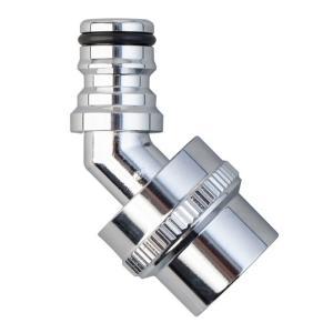 ●サイズ:W87×D34×H121mm ●地下散水栓蛇口に取り付けて、コネクター(別売り)付きホース...