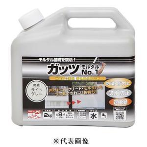 ニッペホームプロダクツ ガッツモルタルNo.1(ライトグレー) 【2kg】|yamakishi
