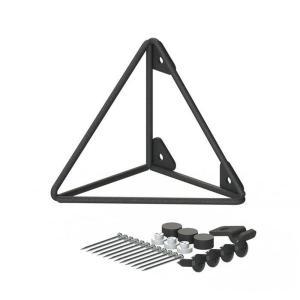 ●サイズ(約):幅9×奥行9×高さ9cm ●3本の金属ワイヤーだけで構成されたミニマルデザインで、ど...