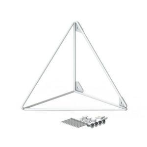 ●サイズ(約):幅14×奥行14×高さ14cm ●3本の金属ワイヤーだけで構成されたミニマルデザイン...