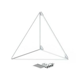●サイズ(約):幅19×奥行19×高さ19cm ●3本の金属ワイヤーだけで構成されたミニマルデザイン...