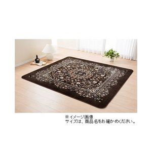 日本ベターリビング ダフェル (カーペット・ラグ) ブラウン 200×240cm yamakishi