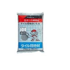 サンホーム タイル目地材 濃灰色 1kg KMN1.3|yamakishi