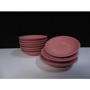 国産 神棚■10枚組 素焼 瓦ケ(かわらけ) 赤皿■3寸 9.5cm|yamako-showten