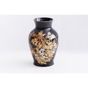国産 陶器 花瓶 ■ 菊草 6寸 ■ 仏壇 お盆 お彼岸 お墓参り 供養|yamako-showten