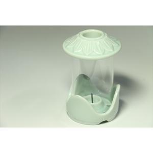 国産 墓参用品■陶器■仏具■限定■墓参灯 白|yamako-showten