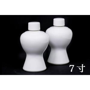 国産 神棚 神社■2本組 瓶子■一対 7寸 高さ21cm 【特大】|yamako-showten