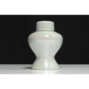 希少■神棚用 陶器■神具■瓶子 平子 平次 単品■ 小 ■パールの輝き■土器■小型の神棚に|yamako-showten