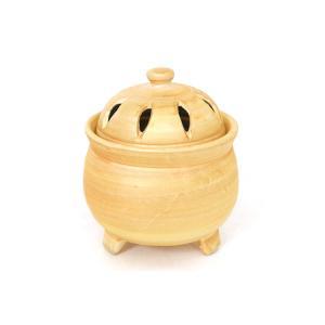 高品位 香炉 ■ 職人手造り・手描き ■ 巻金 ■ 陶磁器 高さ10.5cm|yamako-showten