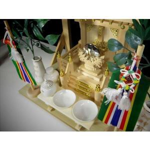 送料無料■真榊 神具■まさかき 小・中型 神棚用 高さ24cm■神棚セットに■装飾 神具セット|yamako-showten|03