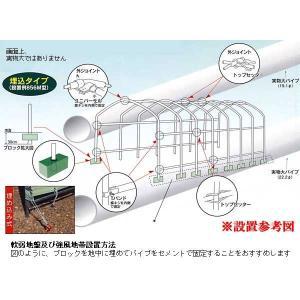 パイプ車庫 678M MG(モスグリーン)用 替えシート(替え幕)前幕|yamakura110|02