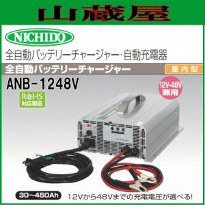 日動工業 全自動バッテリーチャージャー ANB-1248V 12V〜48Vまで yamakura110