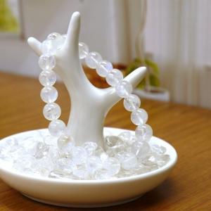パワーストーン 皿 さざれ石(水晶)100g&ブレスレット掛け付浄化・保管用お皿 セット天然石 送料...