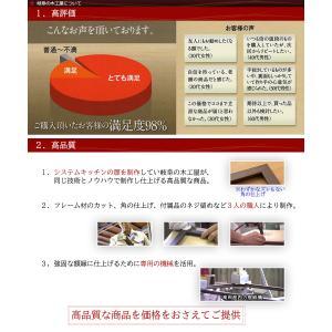 額縁 手ぬぐい額 軽量タイプ こげ茶木目 UVカット ペット板仕様 タオル フレーム|yamamoku-gifu|08