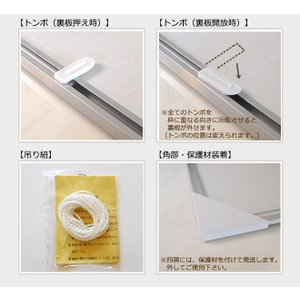 お得な10枚セット ポスターフレーム B4 (257x364mm) シルバー アルミ製 額縁|yamamoku-gifu|03