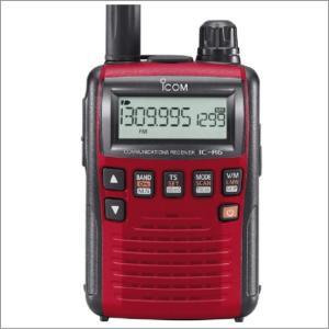 IC-R6メタリックレッド アイコム(ICOM) miniアンテナプレゼント (エアバンドスペシャルメモリータイプ) yamamoto-base