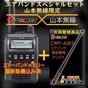 IC-R6 アイコム(ICOM)+CMY-AIR1 エアバンドスペシャルセット yamamoto-base