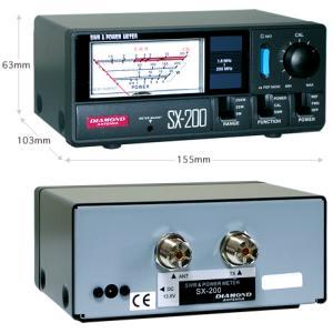 SX200 SWR&パワー計 ダイヤモンドアンテナ(第一電波工業)|yamamoto-base