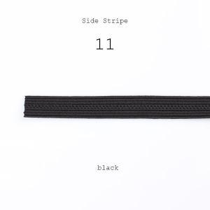 テープ 側章 10cm単位での対応 側章べり レーヨン100% タキシード用スラックス向け 人絹 生地幅9mm 黒 ブラック 品番11|yamamoto-excy