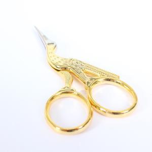 小鋏 縫製道具 洋裁道具 手芸 BOHIN ボアン 可愛らしい鳥のフォルム 取っ手はゴージャスなゴールドカラー 23880|yamamoto-excy