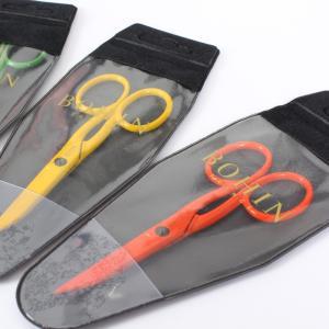 小鋏 縫製道具 洋裁道具 手芸 BOHIN ボアン はさみ カラフルでポップな3色展開 全長約11.3cm 23901/98263/98265|yamamoto-excy