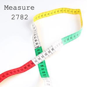 メジャー 縫製道具 カラーメジャー カラフルな3色メジャー プロ御用達 全長150cm ドイツ製 メジャーの世界シェアNO.1のヘキストマス 2782|yamamoto-excy