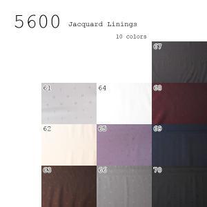 生地 10cmカット対応 先染め甲州織ジャガード裏地 EXCYオリジナル百合柄 10色展開 (5600)