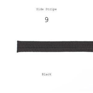 テープ 側章 10cm単位での対応 側章べり レーヨン100% タキシード用スラックス向け 人絹 生地幅18mm 黒 ブラック 品番9|yamamoto-excy