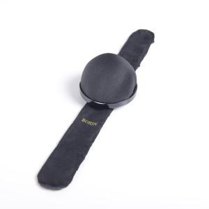 手芸 ピンクッション 縫製道具 BOHIN ボアン ピンクッション 針山 良質なクッションとサイズフリーの巻き付き式バンド 2色展開 フランス製|yamamoto-excy