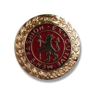 メタルボタン 1個から対応 スーツ・ジャケット向け 真鍮素材の高級品 ブレザーボタン ゴールド 21mm B5|yamamoto-excy