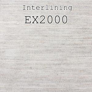 芯地 10cmカット対応 タテヨコ純毛 メンズジャケット用軽量毛芯 (EX2000)|yamamoto-excy