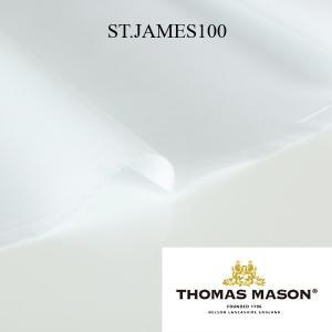 生地 シャツ生地 THOMAS MASON トーマスメイソン 平織り 綿100% 100双 生地幅147cm 50cm単位カット対応|yamamoto-excy