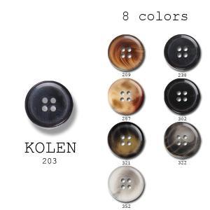 ボタン 15mm スーツ ジャケット ポリエステル 8色展開 ケルン|yamamoto-excy