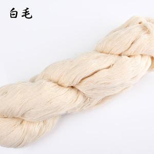 手芸 しつけ糸 綿 白毛|yamamoto-excy