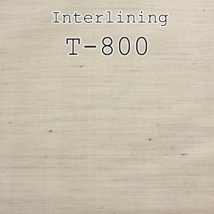 毛芯 芯地 10cm単位でのカット対応 国産 タテヨコ純毛 柔らかい風合いとハリのある毛芯 メンズジャケット用毛芯 T-800 yamamoto-excy