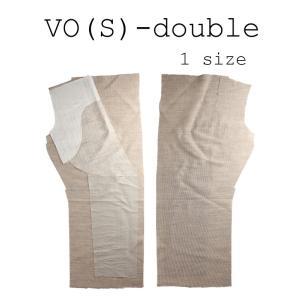生地 芯地 造り毛芯 メンズジャケット用薄手加工毛芯 ダブル用 生成 VO夏-ダブル|yamamoto-excy