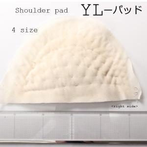 肩パット ショルダーパット メンズジャケット用肩パット 国産 1着分単位対応 立体的な肩を形成 4サイズ展開 YL-パッド|yamamoto-excy