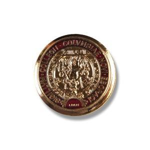 メタルボタン 1個から対応 スーツ・ジャケット向け 真鍮素材の高級品 ブレザーボタン ゴールド 15mm EXCY YM16|yamamoto-excy