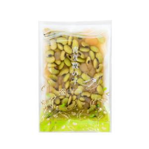 青豆数の子100g  ( 青豆 数の子 煮豆 水煮 東北 郷土料理 )|yamamoto-foods