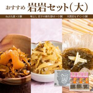 おすすめ岩岩セット(大)【ねP3/岩下P3/もP3】|yamamoto-foods