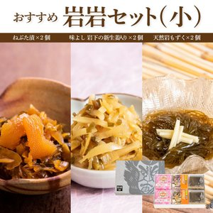 おすすめ岩岩セット(小)【ねP2/岩下P2/もP2】|yamamoto-foods