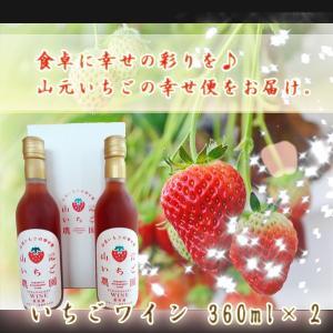 山元いちごワイン(360mlX2)|yamamoto-ichigo15