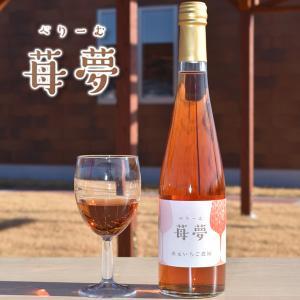 いちごワイン「苺夢(べりーむ)」500ml|yamamoto-ichigo15