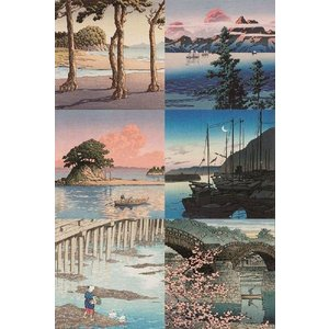 【絵葉書】 6枚セット 「川瀬巴水」|yamamotobizyutukan1