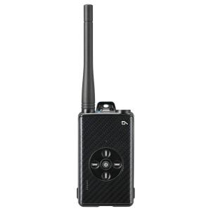 DJ-DPX1KA カーボンブラック 5W デジタル30ch (351MHz) ハンディトランシーバー アルインコ(ALINCO)|yamamotocq